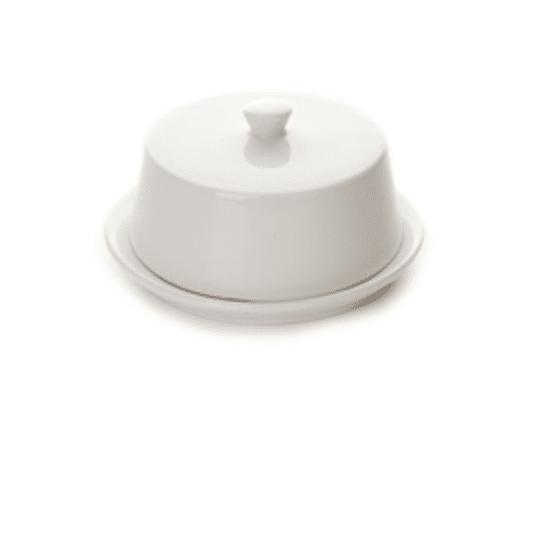Boterpotje met deksel luxe 8,5cm x H 3,5cm