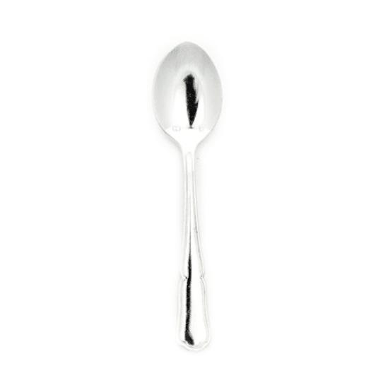 Mokkalepel zilver